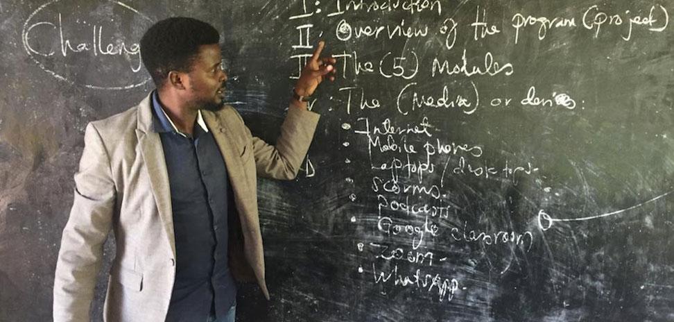 Impulsando la formación docente en África